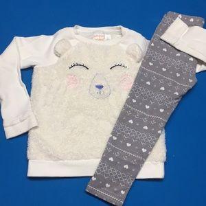 Gymboree - sweater and leggings set